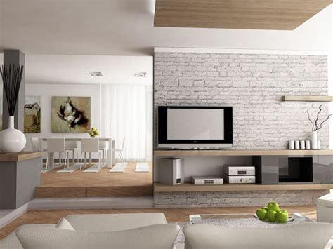 design di interni soggiorno con mezza separazione cucina design di interni