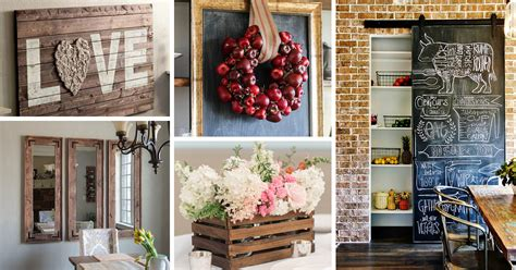 farmhouse decor 30 best diy farmhouse decor ideas and designs for 2017