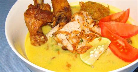 resep membuat soto ayam bumbu kuning cara membuat soto ayam bumbu kuning
