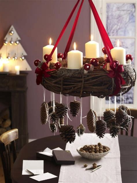 35 creative christmas decoration diy advent wreath ideas family holiday net guide to family
