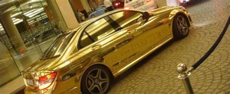 jalousie voiture l engouement pour les voitures en or massif