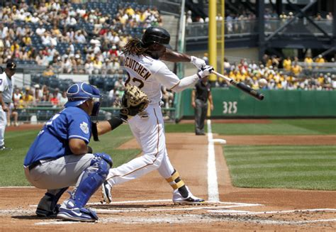pittsburgh swing andrew mccutchen pictures kansas city royals v
