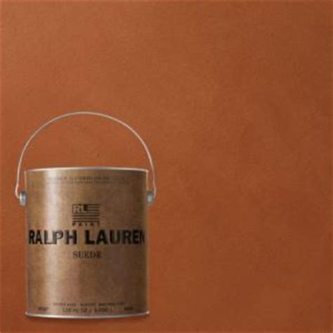 ralph lauren depot ralph 1 gal clay suede specialty finish interior paint su110 the home depot