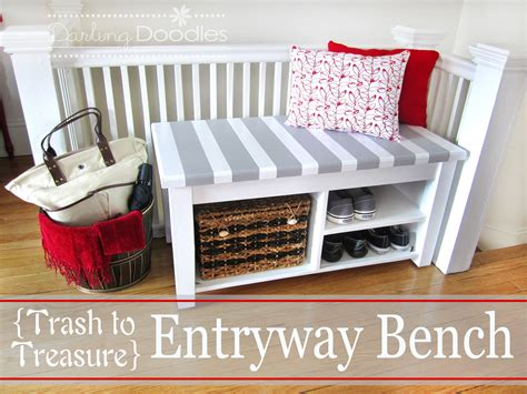 how to make an entryway bench download entryway bench diy pdf fold down bunk bed plans