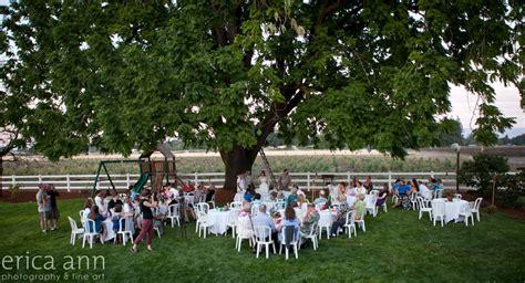 Backyard Luau Wedding Reception Beautiful Backyard Wedding Luau Eugene Or
