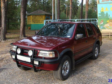 opel frontera 1996 opel frontera pictures