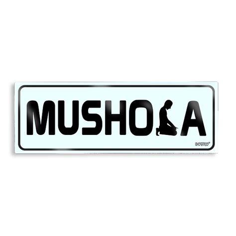 Tulisan Acrylic acrylic sign mushola lotussan stationery