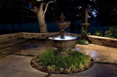 homemade water fountain  unique small garden view