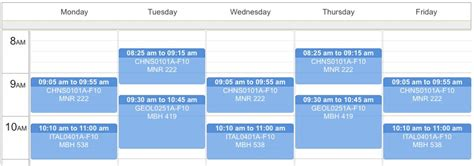 Wtamu Mba Course Schedule by New Course Schedule Planner Library Information