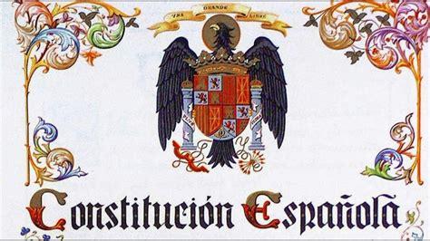 constitucin espaola constituci 243 n espa 241 ola 1978 ii t 237 tulo 1 youtube