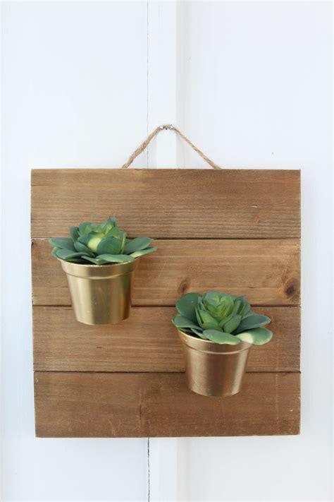 Indoor Wall Planters Diy by Diy Succulents Wall Hanging Tutorial