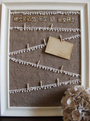 25 best ideas about burlap board on pinterest framed
