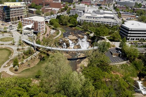 Falls Park On The Reedy Architect Magazine Rosales On The