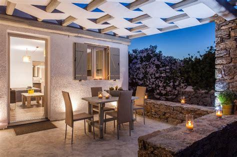 The One Patio Jr - olive mykonos villas junior villa has patio and