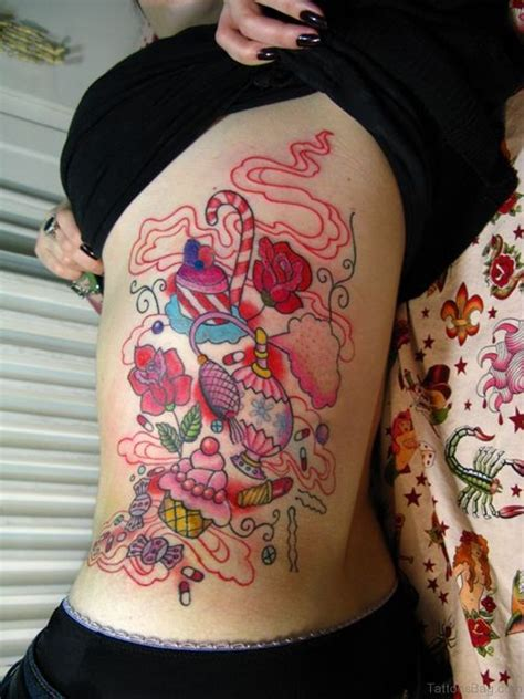 girl makeup tattoo 47 outstanding rib tattoos