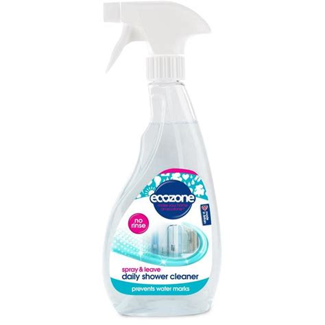 Best Daily Shower Cleaner Spray by Ecozone Daily Shower Cleaner Spray 500ml From Ocado