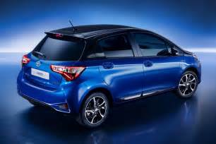 Toyota Yaris 2017 Toyota Devoile La Yaris Restylee Avant Le Salon De Geneve 2017
