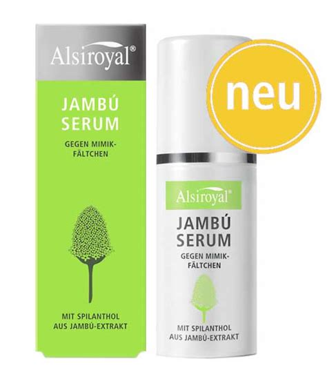 Serum Jambu jamb 250 serum alsiroyal reformhaus mommertz in arnsberg