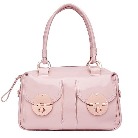 5 Beautiful Bags To Drool by Mimco Turnlock Handbag Gold And Blush Copper