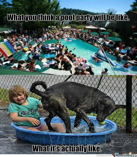 Meme Pool - pool party by wheresthebeef00 meme center