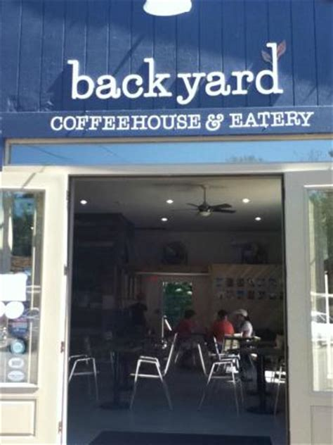 backyard coffee backyard coffeehouse eatery ogunquit restaurant