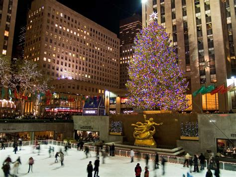 big christmas tree in new york city a new york city list family vacations u s