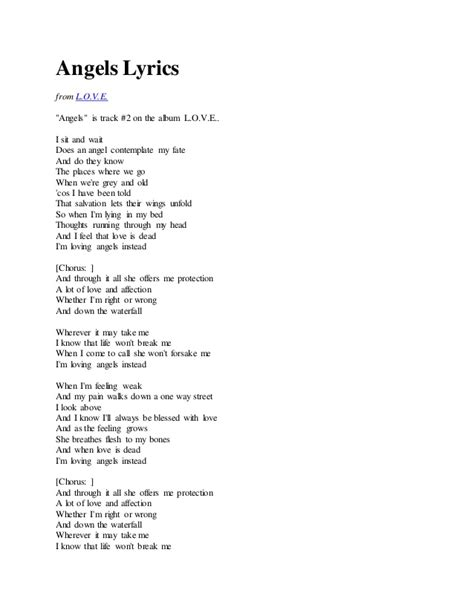 angle song angels lyrics by harrison crai