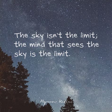 The Limit the sky isn t for the work of byron