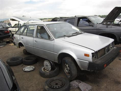 nissan datsun 1982 junkyard find 1982 nissan sentra station wagon the