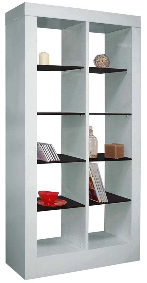 Beautiful Bookshelf Design Ideas That Will Be Ideal For White High Gloss Bookcase