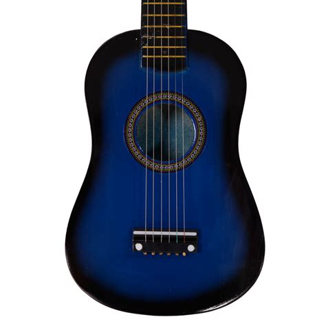 Gitar String New Jreng Mini Akustik new 23 quot plywood acoustic mini guitar 6 string for beginners practice blue