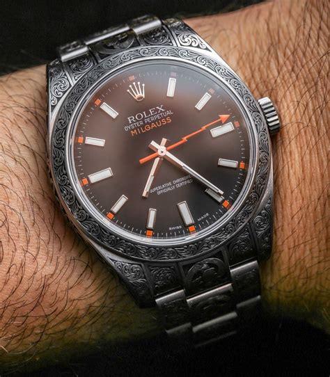 Rolex Millgauss rolex milgauss 116400 madeworn engraved review