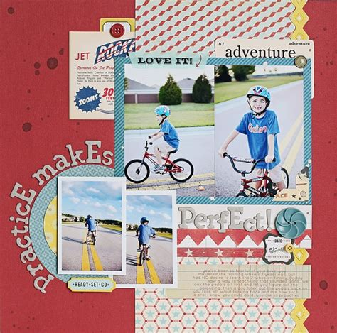 scrapbook layout cycling 3570 best scrapbook layouts images on pinterest
