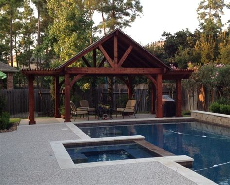 pavillon pergola poolside pergola pavillion combination pergolas and