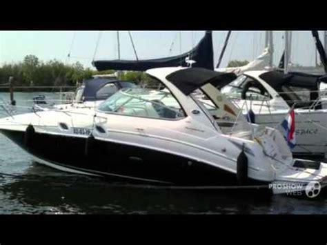sea ray boats youtube sea ray 305 sundancer power boat sport boat year 2010