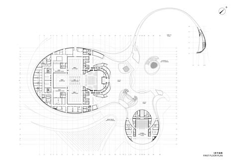 cultural center floor plan gallery of harbin cultural center mad architects 29