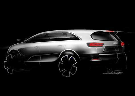 future kia models kia 2015 sorento kia teases third generation sorento suv