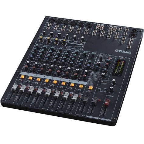 Audio Mixer Yamaha Mg124cx yamaha mg124cx 12 input stereo mixer with