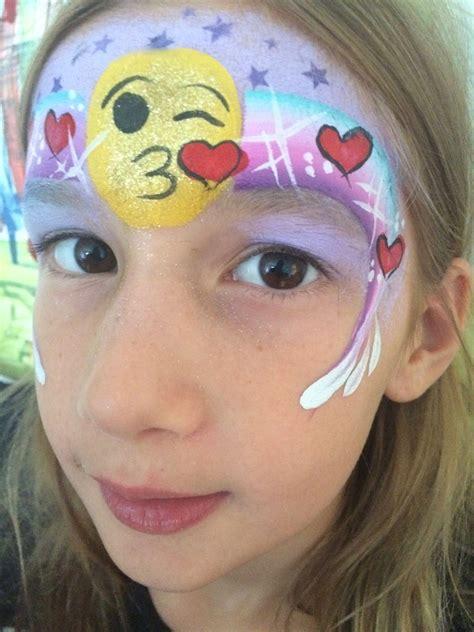 Painting Emoji by Emoji Paint Easy Facepaint