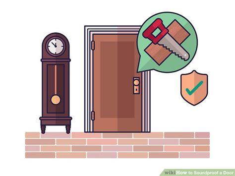 soundproof exterior door how to soundproof a door