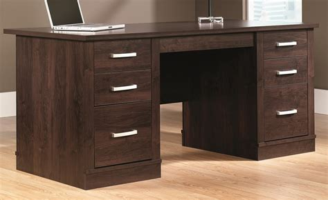 sauder office port executive desk in alder office port executive desk in alder 408289 by sauder