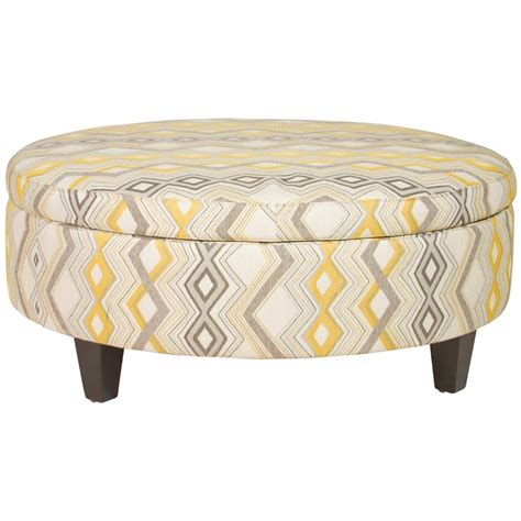 large round ottoman couch jonathan louis ottomans large round storage ottoman