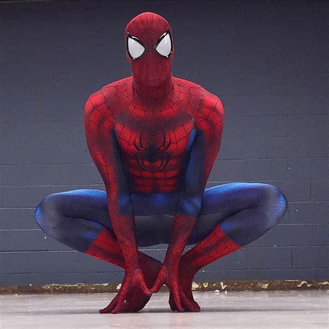 spiderman zentai pattern zentai ultimate spandex amazing spiderman costume adult 3d