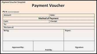 Cheque Voucher Template by Payment Voucher Template Page Word Excel Pdf
