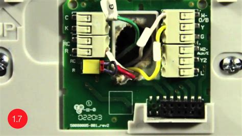 Substitute G Wire for C Wire    Install the Honeywell Wi Fi smart thermostat with this video