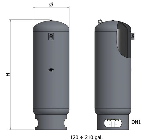Pressure Tank Drakos Wvt 200 asme 200 psi domestic booster tanks elbi of america