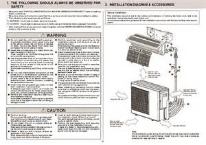 Mitsubishi Air Conditioners Installation Mitsubishi Mxz 3a54va Mxz 4a71va Air Conditioner
