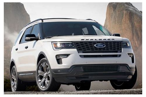 2018 ford explorer sport lease deals