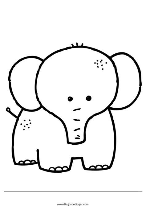 imagenes para colorear elefante dibujos de elefantes para colorear e imprimir 2 de 2