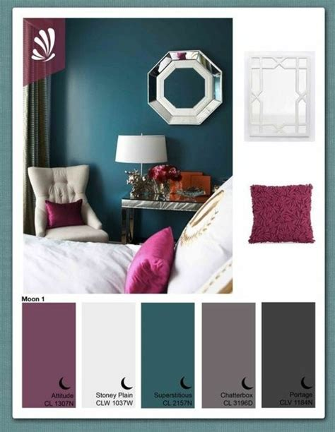 teal bedroom ideas with many colors combination purple and lila violett t 246 ne wandfarbe wohnung pinterest w 228 nde
